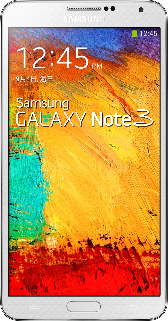 Actual size of Samsung Galaxy Note 3