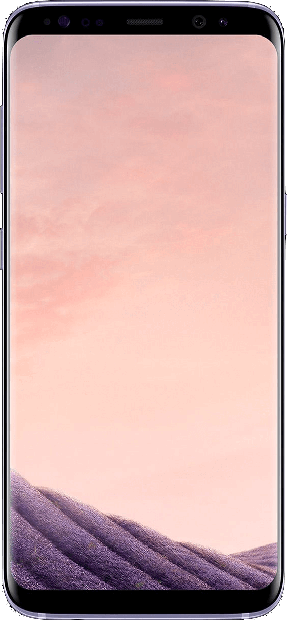 Actual size image of  Samsung Galaxy S8 .