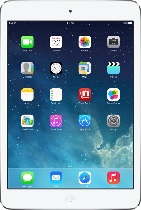 Actual size of iPad mini 2 (Retina)Ipad Mini Retina Size