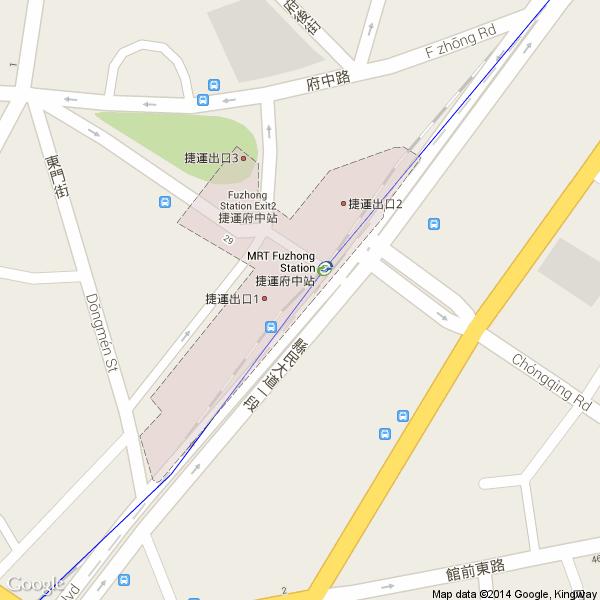 府中站出口地图