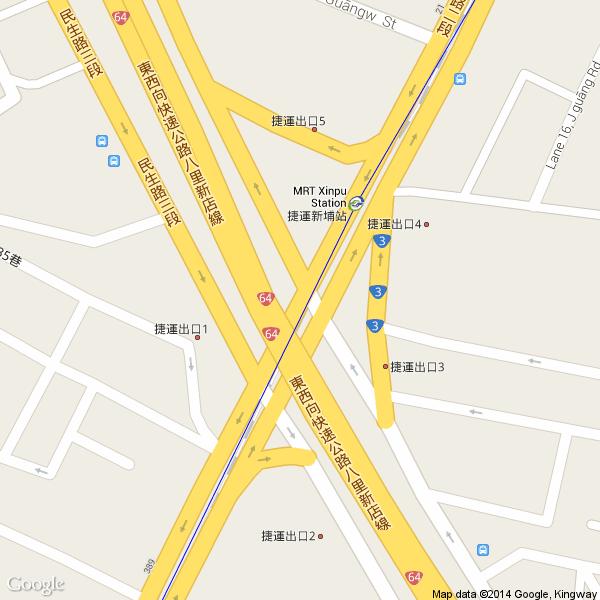打开 google 地图